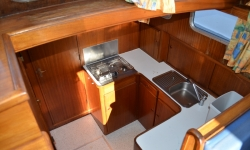 Lissen Yacht 36 konyha