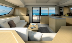 Fountaine Pajot Saba 50 szalon 2