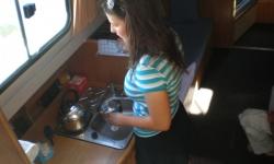 Vistula Cruiser 30 konyha