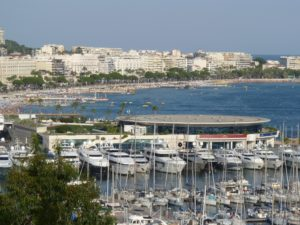 Cannes panoráma
