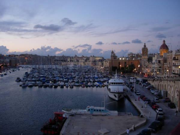 Máltai kikötők